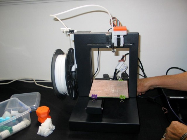 3D Printing Systems Up! printer, courtesy Intellecta